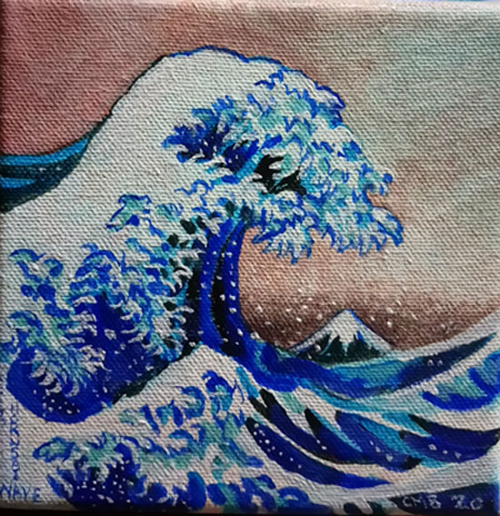 wave hokusai after